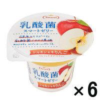 乳酸菌スマートゼリー シャキシャキりんご 190g×6個
