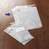 今村紙工 片面ホワイト印刷加工OPP袋 料金別納マーク入 A4 1袋(100枚入)