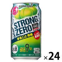 サントリー ー196℃ストロングゼロ まるごと青梅 350ml×24缶