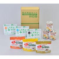 タナカシンソー A4ボックス食料備蓄3日間セット BLS-02 27015 1個(直送品)