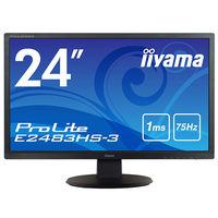 iiyama 24インチワイド液晶モニター ProLite E2483HS-B3 1台