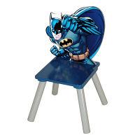 <LOHACO> 【アウトレット】ニチガン キッズ用キャラクター木製チェア バットマン 1脚 WB-3画像
