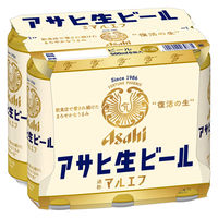 アサヒビール アサヒ生ビール 500ml×6缶