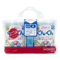 【9ヵ月頃から】WAKODO(和光堂) フォローアップミルク ぐんぐん(大缶)830g×2缶パック (おまけ付き) 1パック アサヒグループ食品