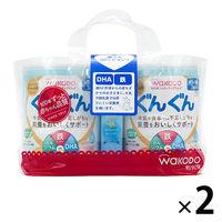 【9ヵ月頃から】WAKODO(和光堂) フォローアップミルク ぐんぐん(大缶)830g×2缶パック (おまけ付) 1セット(2パック:4缶) アサヒグループ食品