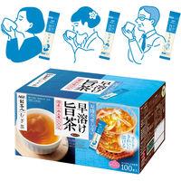 【水出し可】味の素AGF 「新茶人」早溶け旨茶 むぎ茶スティック 1箱(100本入)