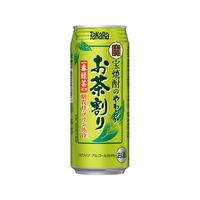 宝焼酎のやわらかお茶割り480ml 3缶
