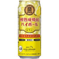 樽熟成焼酎ハイボールレモン3缶