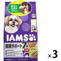 IAMS(アイムス) 犬用 7歳以上用 健康サポート チキン 中粒 2.6kg 3袋 マースジャパン