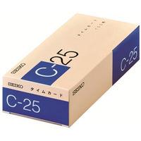タイムカードCシリーズ C-25タイムカード(25日締め)