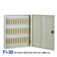 タチバナ製作所 キーボックス固定式 Fi-30 +スペア用キープレート30枚付 9902-42824 1セット(直送品)