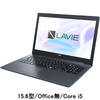 NEC LAVIE 15.6型ノートPC Core i5/Office無 PC-GN165GDLD-AS41