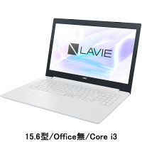 NEC 15.6型ノートPC LAVIE Direct PC-GN232FDLD-AS41(Core i3/Office無) 1台