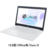 NEC 15.6型ノートPC LAVIE Direct PC-GN165FDLD-AS4H(Core i5/Office有) 1台