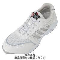 コーコス信岡(CO-COS) A-44000 セーフティースニーカー ホワイト 24.0cm A-44000-0-24.0 1足(直送品)