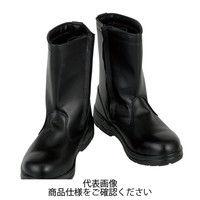 コーコス信岡(CO-COS) ZA-817 半長靴 ブラック 24.5cm ZA-817-13-24.5 1足(直送品)