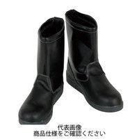 コーコス信岡(CO-COS) ZA-837 舗装職人 半長靴 ブラック 24.5cm ZA-837-13-24.5 1足(直送品)