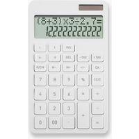 計算式表示電卓 ホワイト C1242W 2個セット(直送品)