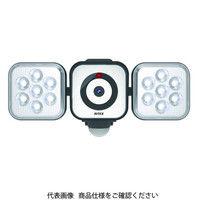 ムサシ LEDセンサライトX防犯カメラ 8W×2灯 C-AC8160 1個(直送品)
