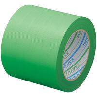 パイオランクロス粘着テープ 塗装養生用 グリーン 養生テープ 幅100mm×25m巻 Y-09-GR ダイヤテックス