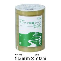 共和 セロハン粘着テープ 15mm幅×70MT HC-320-A 1パック(10巻入)