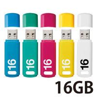 USB3.0 16GB キャップ式ベーシックパス 5色入
