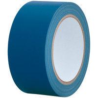 【ガムテープ】カラー布粘着テープ No.240 0.24mm厚 幅50mm×長さ25m 青(ブルー) APMジャパン 1巻