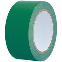 【ガムテープ】カラー布粘着テープ No.240 0.24mm厚 幅50mm×長さ25m 緑(グリーン) APMジャパン 1巻