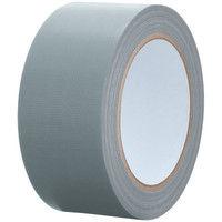 【ガムテープ】カラー布粘着テープ No.240 0.24mm厚 幅50mm×長さ25m 銀(シルバー) APMジャパン 1巻