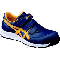安全靴/作業靴 作業靴 ウィンジョブ インシグニアブルー/ゴールドフュージョン 26.5 cm