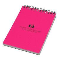 エトランジェ・ディ・コスタリカ A6リングメモ[SOLID]ピンク SLD-28-47 10冊(直送品)