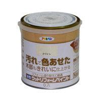 アサヒペン 水性ウッドリフォームペイント 0.7L ホワイト 9018123(直送品)