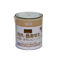 アサヒペン 水性ウッドリフォームペイント 1.6L ウォルナット 9018127(直送品)