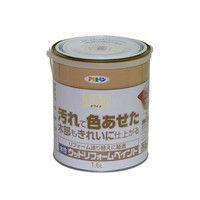 アサヒペン 水性ウッドリフォームペイント 1.6L ホワイト 9018131(直送品)