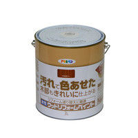 アサヒペン 水性ウッドリフォームペイント 3L マホガニー 9018134(直送品)
