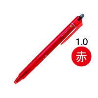 フリクションボールノック 1.0mm 赤 消せるボールペン LFBK-23M-R パイロット
