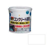 アサヒペン 水性コンクリート床用 0.7L ホワイト 9011099(直送品)