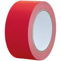 【ガムテープ】カラー布粘着テープ No.240 0.24mm厚 幅50mm×長さ25m 赤(レッド) APMジャパン 1箱(30巻入)
