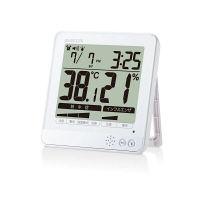 エレコム 温湿度警告計/熱中・ウィルス/大画面/ホワイト OND-04WH 1個 (直送品)