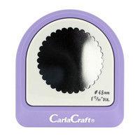 カール事務器 メガジャンボクラフトパンチ スカロップ(Φ45mm) CN45010 2個(直送品)