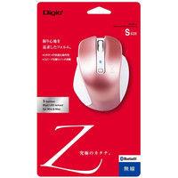 ナカバヤシ 小型Bluetooth 5ボタンBlueLEDマウス ピンク MUS-BKF121P 1個 (直送品)