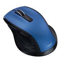 ナカバヤシ F_line Bluetooth静音5ボタンBlueLEDマウス Mサイズ ブルー MUS-BKF146BL 1個 (直送品)