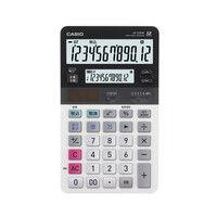 カシオ計算機 ツイン液晶電卓 ミエミエくん JV-220W-N 1個 (取寄品)
