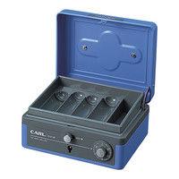 カール事務器 キャッシュボックス(M) B7サイズ CB-8100-B 2個(直送品)