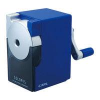 カール事務器 鉛筆削り カラリス ブルー CP-100A-B 2個(直送品)