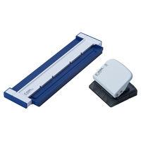 カール事務器 ゲージパンチ ブルー A5サイズ20穴 GP-20-B 1個