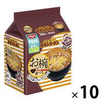 日清食品 お椀で食べるチキンラーメン 3食パック×10個