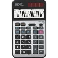 シャープ 経理仕様電卓 銀 ナイスサイズ EL-N942-X 1セット(3個入)