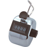 シンワ測定 数取器B 金属製 手持型 75086 10個(わけあり品)