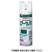 イサム塗料(ISAMU) エアーウレタン 315ML グリーンアーミー 4957945979969(直送品)